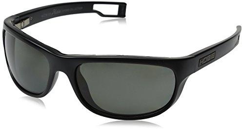 Hobie Men's Cruz-R-A010108 Polarized Oval Sunglasses, Satin Black, 64 mm