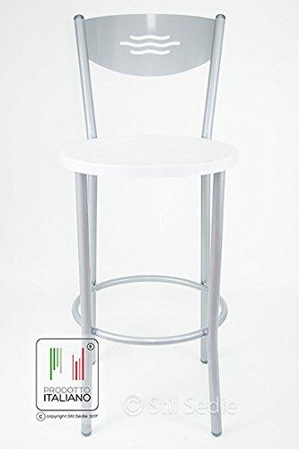 Stil Sedie Sgabello Cucina, Ferro, Taglia Unica: Amazon.it: Casa e ...