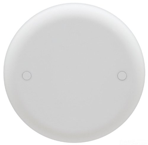 ceiling fan covers. carlon cpc4wh ceiling fan box cover, round, blank, 4-inch diameter, white covers
