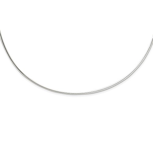 (925 Sterling Silver Neck Collar Chain Necklace Pendant Charm Choker Fine Jewelry Gifts For Women For)