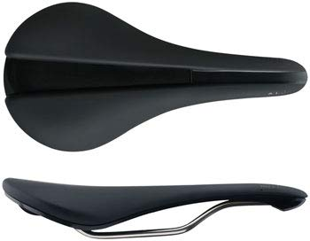 Fabric Line Race Saddle Shallow Black/Black, 134mm