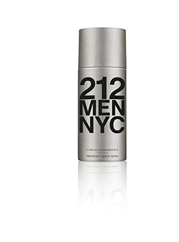 Deodorant 212 Men - Carolina Herrera 212 for Men Deodorant Spray, 5.1 Ounce