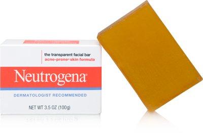 Neutrogena Transparent Facial Bar - Acne-Prone Skin Formula 100gm/3.5oz