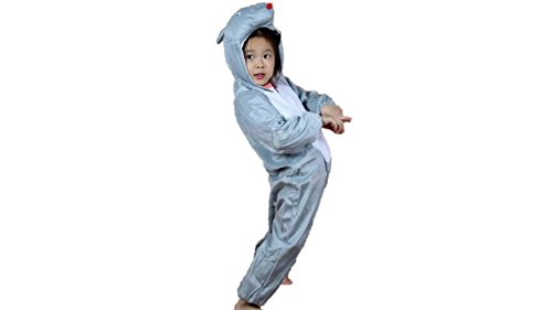 (Kids Animal Costumes Pajamas Fancy Dress Outfit M (for Kids 35.5