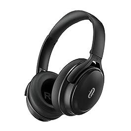 Active Noise Cancelling Headphones [2020] TaoTronics Bluetooth Headphones with CVC 6.0 Mic, Hi-Fi Stereo Deep Bass