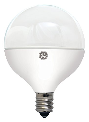 G16.5 Led (GE Lighting 37934 Dimmable LED G16 Decorative Bulb with Candelabra Base, 7-Watt, Soft White)