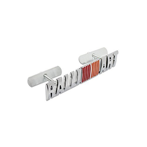 (Metal Ralliart Front Sport Racing Grille Grill Badge Emblem Decals Fit)