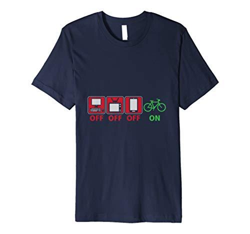 Electronics Off Biking On Outdoor Exercise T-Shirt