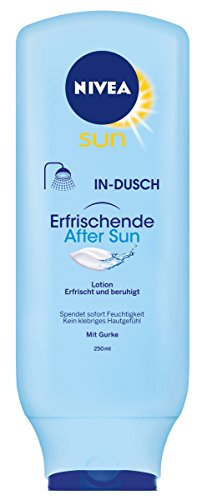 Nivea Sun In-Dusch Refresh Erfrischende After Sun Lotion, 1er Pack (1 x 250 ml)