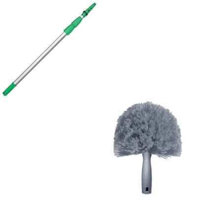 KITUNGCOBW0UNGED900 - Value Kit - Unger StarDuster CobWeb Duster (UNGCOBW0) and Opti Loc Tele Poles 30' (UNGED900) by Unger