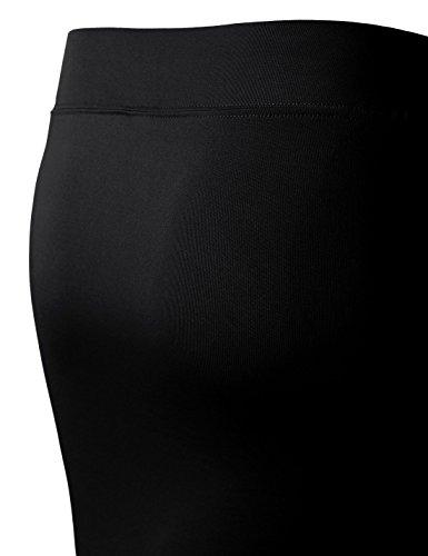 Nknkw5s Nearkin black Femme Moderne ajust Solid Jupe aqwxZSpPaH