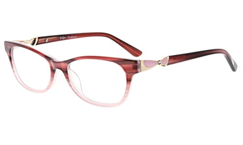 Eyekepper Rx-able Acetate Eyeglasses For Small Face Women, Ladies' Glasses Frame, - Narrow Faces Glasses Reading For