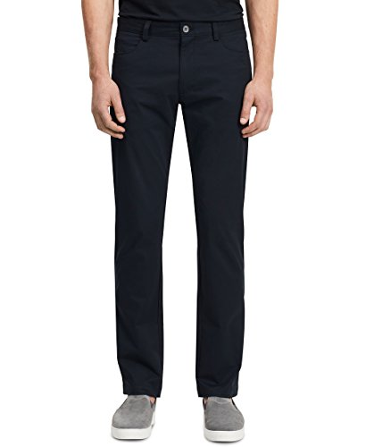 - Calvin Klein Men's Stretch Sateen Casual Pants Officer Navy 36W x 32L