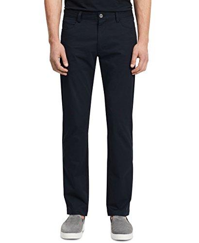 Best buy Calvin Klein Men's Slim Fit 4-Pocket Stretch Sateen Pant,Officer Navy,34Wx32L