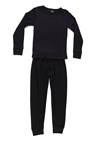 At The Buzzer Thermal Underwear Set For Boys 95362-Black-4