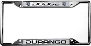 Durango License Plate Frame Eurosport Daytona Inc. Dodge