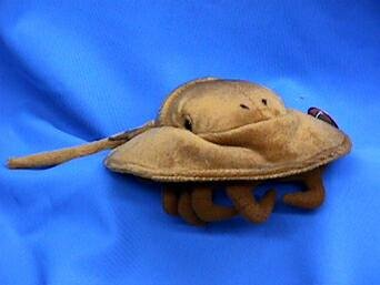 (Cabin Critters Horsehoe Crab Plush Toy)