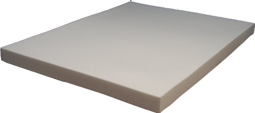 Strobel Organic Upholstery Foam Super Premium Memory Foam Soy Based, 37.5 x 74 x 4.5