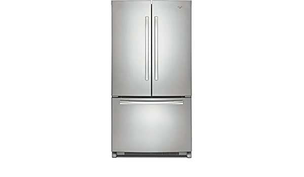 Whirlpool 5GX0FHTXAF Independiente 495L A+ Acero inoxidable nevera puerta lado a lado - Frigorífico side-by-side (Independiente, Acero inoxidable, ...