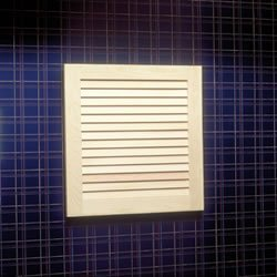 Jensen 606 Basic Louver Unfinished Wood Single Recessed Medicine ()