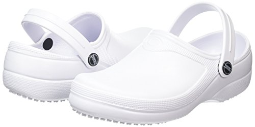 Unisex trabajo Froggz Crews Classic Zueco Shoes Blanco 2 For adulto de Rq5p5xz