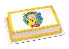 Cake Decorating Kit Of The Month : Amazon.com: Caillou Edible Image Cake Topper: Toys & Games