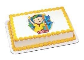 Amazon.com: Caillou Edible Image Cake Topper: Toys & Games