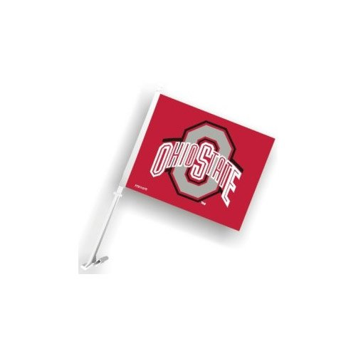 Ohio State Car Flag Fremont Die