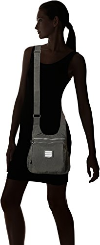 Everyday City Small Handbag 9288 Grey Travel Lightweight Shoulder Suvelle Multi Bag Pocket Crossbody 4nwxRE