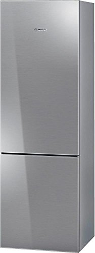 B10CB80NVS 24 800 Series Energy Star Qualified Counter Depth Bottom Freezer Refrigerator with 10 cu. ft. Capacity Spill-Proof Glass Shelves HydroFresh Drawer and Glass Door in Stainless Steel by Bosch