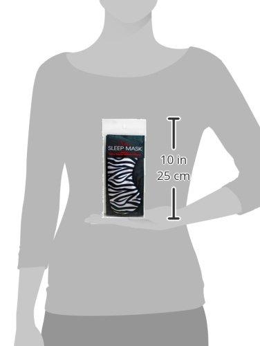 Swissco Satin Sleep Mask Zebra Print