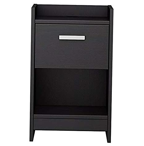 Amazon.com: Hebel Central Park 1 Drawer Nightstand | Model ...