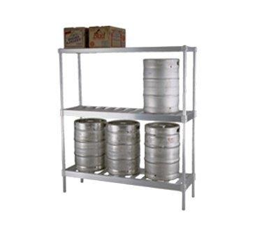 Eagle KR1893A Aluminum Beer Keg Rack
