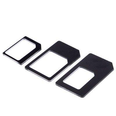 CABLING® Kit 3 en 1 Adaptateur carte SIM Nano, Micro