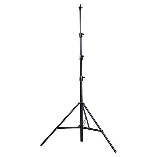 Interfit LS203 Studio Essentials Professional - 13' Premium Air-Cushioned Light Stand, Black by Interfit