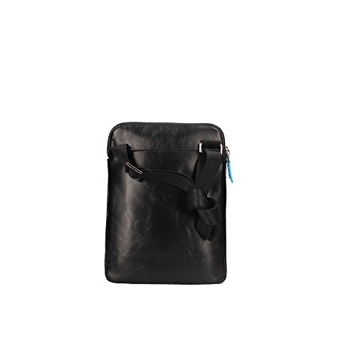 Unica For Tablet Bag Blu Leather Pocket Two With