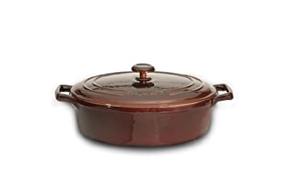 BergHOFF Neo Cast Oval Covered Casserole