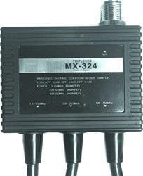 220-225MHz 400-550MHz Diamond MX324 Triplexer 1.6-150MHz