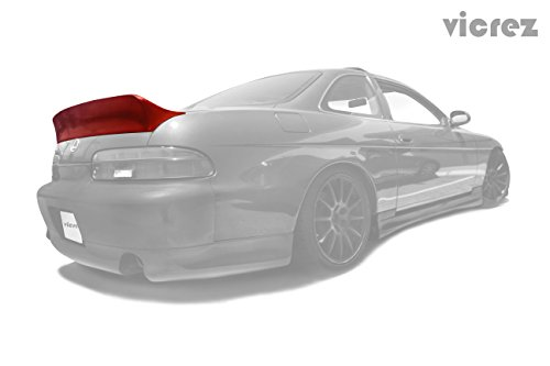 Vicrez Lexus SC SC300 SC400 1992-2000 Rocket Bunny Ducktail Polyurethane Rear Wing Trunk Spoiler - vz100322 Lexus Sc Spoilers
