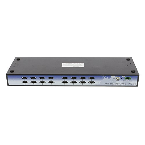 Coolgear CoolGear Industrial 16 Port Rack Mountable USB 2.0 Hub, Built in Internal Power Supply. by Coolgear (Image #5)