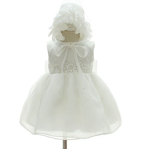Moon-Kitty-Baby-Girls-Beaded-Embroideries-Baptism-Dresses-2-piece-Christening-Gown