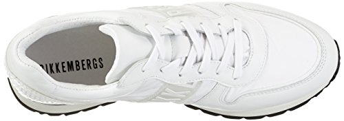 Bikkembergs Kate 853, Zapatillas de Estar por Casa para Mujer Bianco
