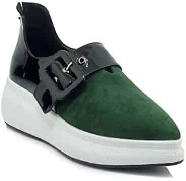 45f52afaf0a3f Shopping Platform - Green - Loafers & Slip-Ons - Shoes - Women ...