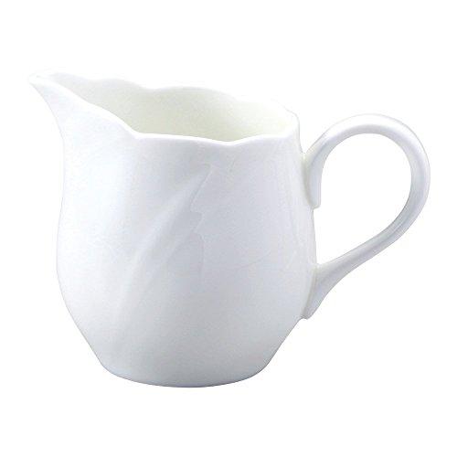 (NARUMI ( Narumi ) spiral white espresso creamer 100cc bone china 8382-4410)