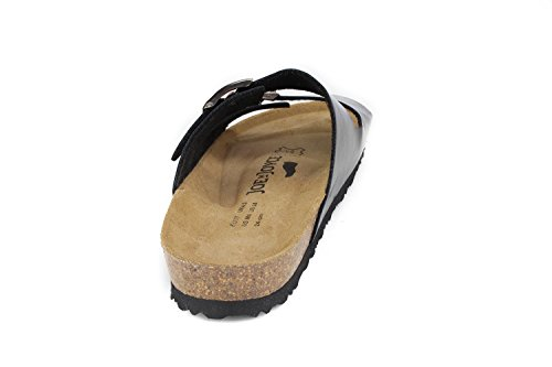 Joe N Joyce London Sandali Soft-foots Morbidi Blu Scuro Taglia 38 Stretti