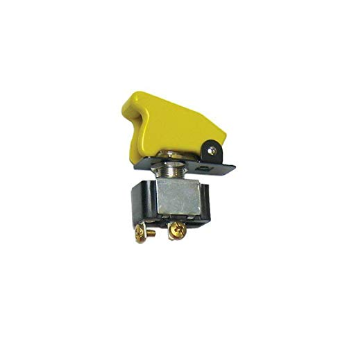 Keep It Clean 10927 Toggle Switch Race Toggle Switch With Safety Cover - Yellow