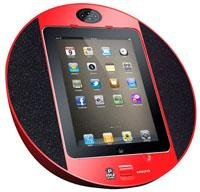 Pyle-Home PIPDSP2W Touch Screen Dock with Built-In FM Radio/Alarm Clock for iPod by Pyle Home