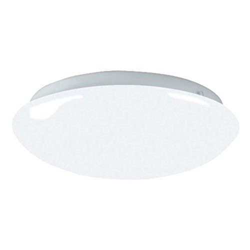 Lighting by AFX CMS2022ET Camden 1-22 Watt T9 Flush Mount Fixture, Shallow Cloud with Smooth White Diffuser ()