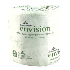Toilet Paper, Envision, 2Ply, Pk80 19880/01 - Envision Bath Tissue 2 Ply