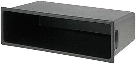 Universal Marco de radio para coche Auto Radio estante compartimento de automóviles caja Bahía de 1 DIN: Amazon.es ...